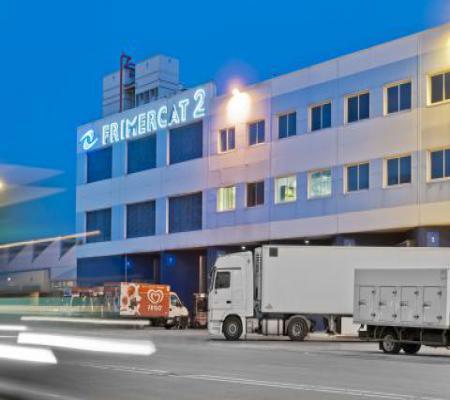 Disponemos de 115.000 m2 de almacén repartidos en 2 plantas frigoríficas.